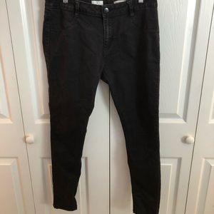 black cotton on jeans